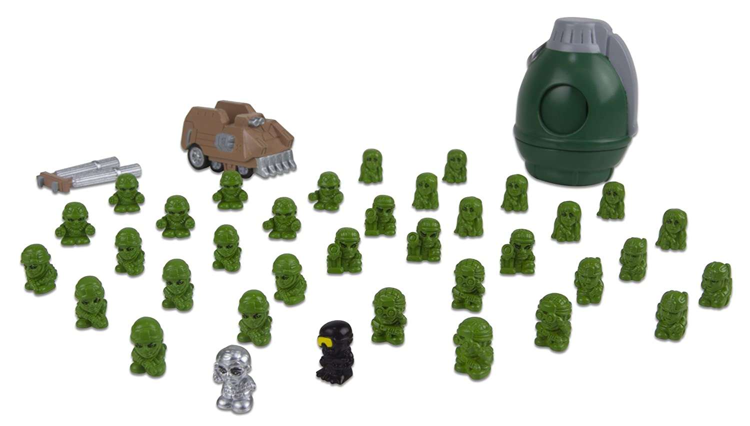 Military Crew Blip Toys 36-Piece Squinkies for Boys Zinkies Import 37957 ds-tru-962DDC28