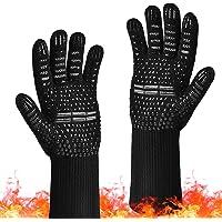 Ovenhandschoenen Grillhandschoenen kookhandschoenen siliconen antislip voor ovenwanten voor barbecue, grill, bakken…