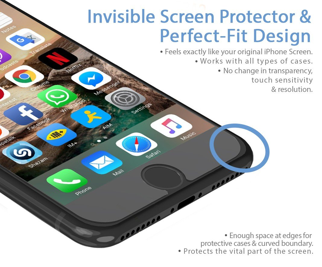 2-Pack-Premium-Apple-iPhone-7-Tempered-Glass-Screen-Protector-Shield-Guard-Protect-from-Crash-Scratch-Anti-Smudge-Fingerprint-Resistant-Shatter-Proof-Best-Front-Cover-Protection