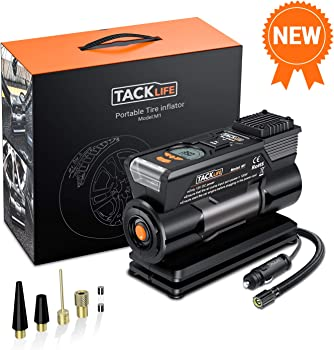 Tacklife M1 150PSI Portable Digital Tire Inflator