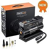 TACKLIFE M1 Compresor Aire Coche, 40L / Min Inflador Digital, 12V 150PSI Poco Ruido Compresor de Aire, Bomba Electrico…