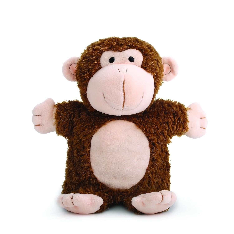 DEMDACO Mingus Monkey Puppet Chestnut Brown and Peach Childrens ...