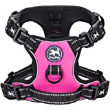 PoyPet 2019 Upgraded No Pull Dog Harness with 4 Snap Buckles, Reflective with Front & Back 2 Leash Hooks and an Easy…