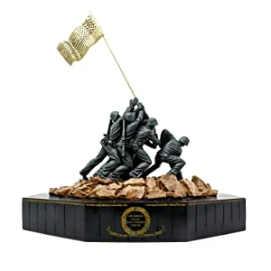 Large Marine Corps Iwo Jima Statue - War Memorial USMC Gift