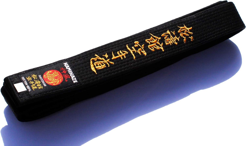 Kamikaze Cintura Nera cottone qualit/à Superiore 4.5//280 cm