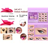 SBE Professional Cat Eye Winged Eyeliner Stamp And Cat Line Eyeliner Stencils Makeup Tool