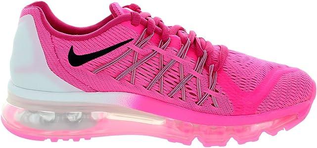 sale retailer 5c2c3 ed0a9 Kids Air Max 2015 (Gs) Pink Pow Black Vivid Pink White Running Shoe. Nike  Kids Air Max 2015 (Gs) Pink ...
