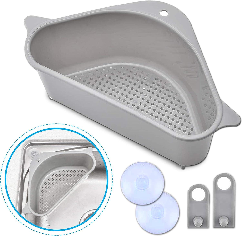 Amazon Com Kitchen Triangular Sink Strainer Basket Multipurpose Sink Triangle Strainer Sink Drain Strainer Triangular Sink Filter Kitchen Dining