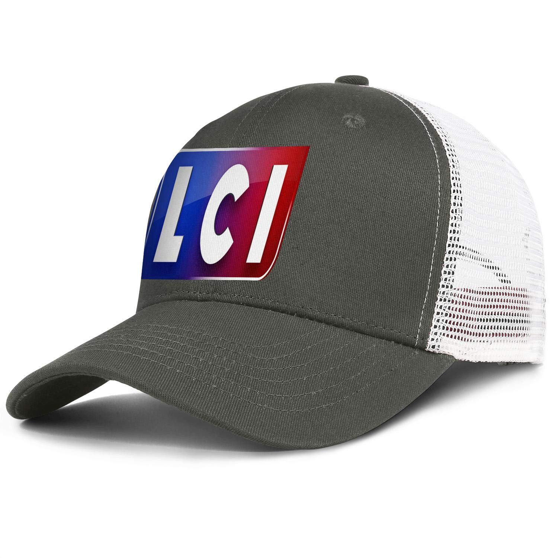 COOLGOOD LCI-Logo Men Womens Mesh Back Baseball Caps Luxury Visor Hats