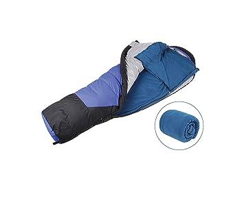 Funda impermeable para saco de dormir de camping individual: Amazon.es: Deportes y aire libre