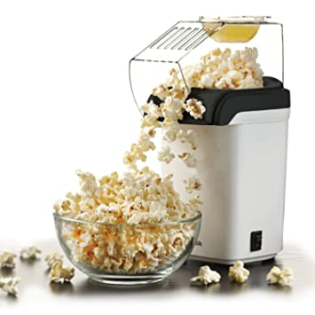 Sentik 1200w Electric Popcorn Maker Machine Fat Free Pop Corn Popper, White by Sentik: Amazon.es: Hogar