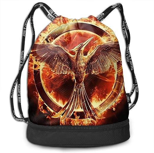 Sunmoonet The Hunger Games - Mochila Ligera con cordón para ...