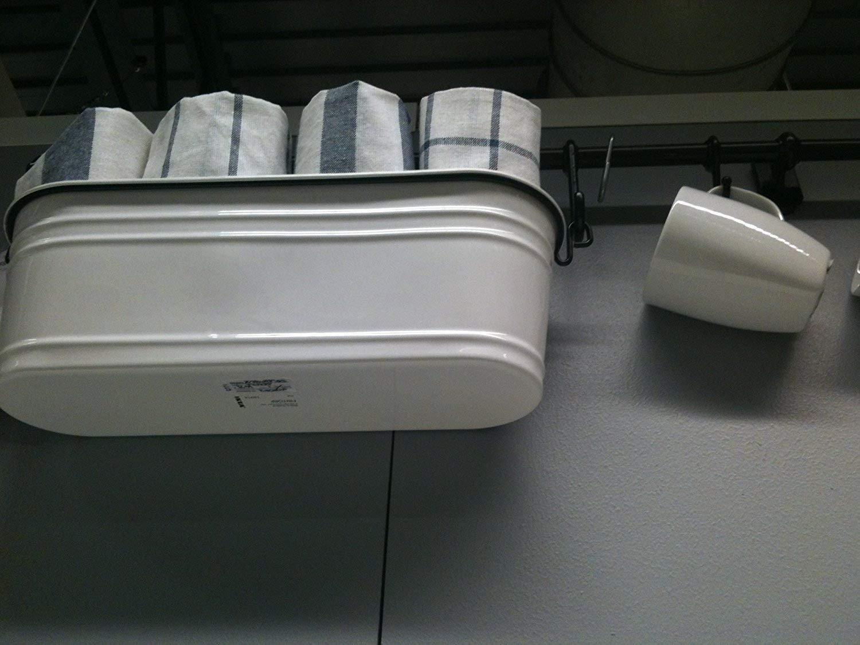 Ikea Steel Condiment Stand 602.020.81, White/black (White/black, 1)