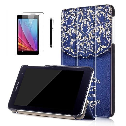 71 opinioni per Ottimo Cover in Pelle per Huawei T2 7.0,Slim Smart Cover Protezione Custodia in