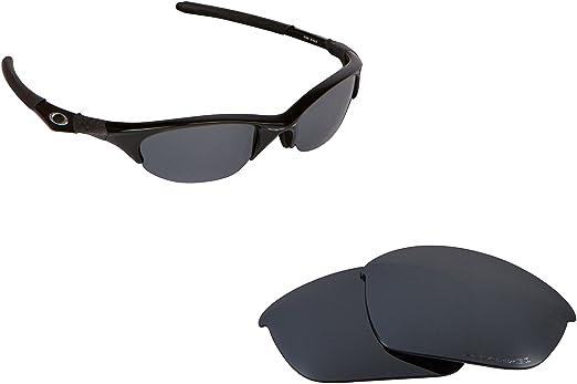 Best SEEK OPTICS Replacement Lenses Oakley HALF JACKET - Polarized Black  Iridium