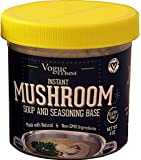 Vogue Cuisine Mushroom Soup & Seasoning Base 4oz - Low Sodium & Gluten Free