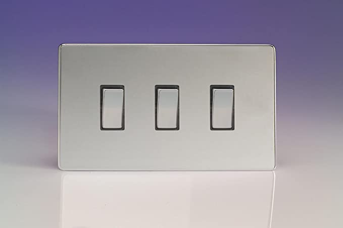 Varilight 3 gang 10a 1 or 2 way rocker light switch twin plate varilight 3 gang 10a 1 or 2 way rocker light switch twin publicscrutiny Images
