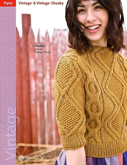 Amazon Berroco Knitting Patterns Vintage Vintage Chunky Book