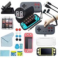 Generation Gaming Kit de Accesorios Premium G2 para Nintendo Switch Lite con Protector de Pantalla Anti Luz Azul…