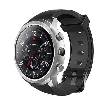 YUNDING Reloj Inteligente con Teléfono Móvil Android, Internet/App Descargar/Llamar/Tarjeta SIM/Cámara HD/GPS / 512MB + 8GB: Amazon.es: Deportes y aire ...