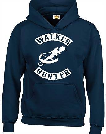 Crown Designs Walker Hunter Programa de Television Zombie Inspirado Sudaderas Unisex de Regalo para Hombres Mujeres y Adolescentes: Amazon.es: Ropa y ...