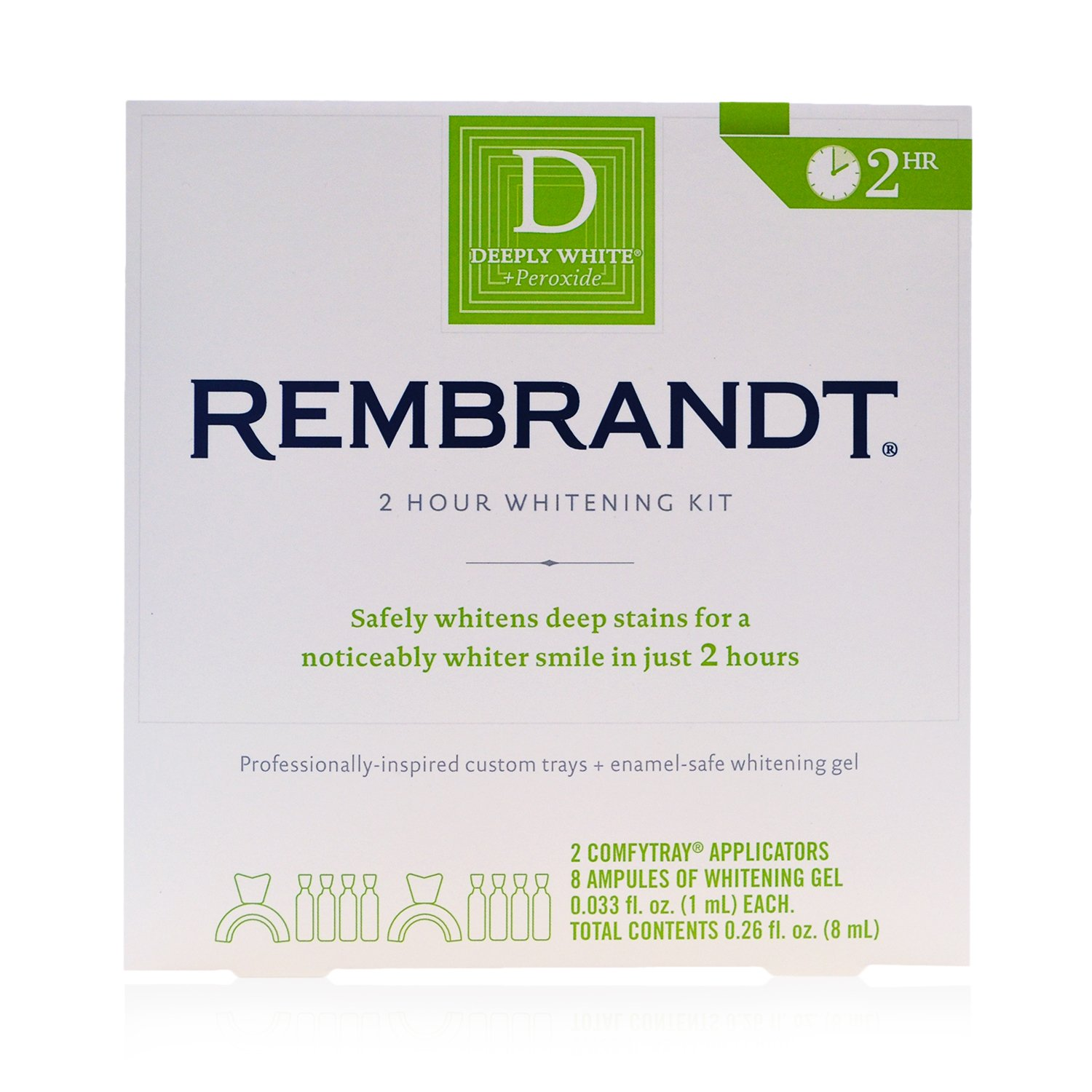 Amazon Rembrandt Deeply White 2 Hour Teeth Whitening Kit