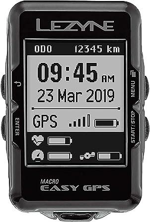 LEZYNE Macro Easy - Contador GPS para Bicicleta o montaña, Unisex ...