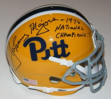 4d4aed2d1 Image Unavailable. Image not available for. Color  Johnny Majors Signed  Autographed Auto Pittsburgh Pitt Panthers ...