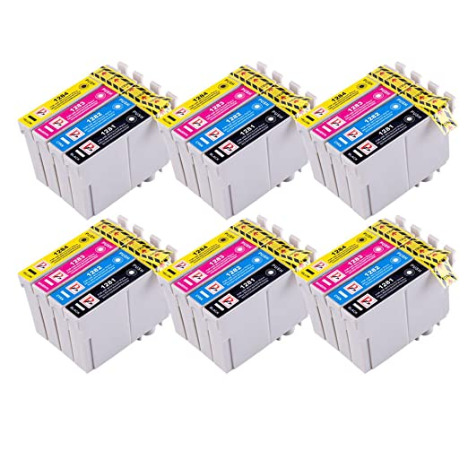 PerfectPrint - 24 Cartuchos de tinta compatibles para impresora ...