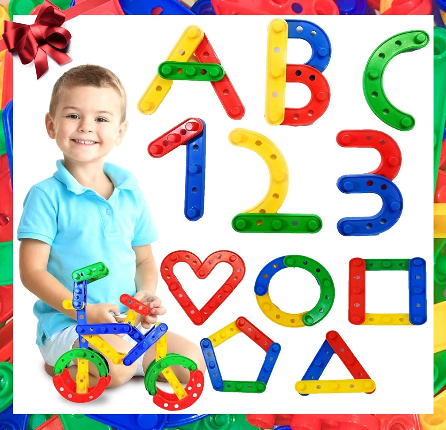 Jarrby Montessori Toys for Toddlers   STEM / Steam Therapy Toys   Kids Toys   Toddler Building Toys   Preschool Learning Toys   Sensory Toys for Autistic Children - Age 2, 3, 4,5, +