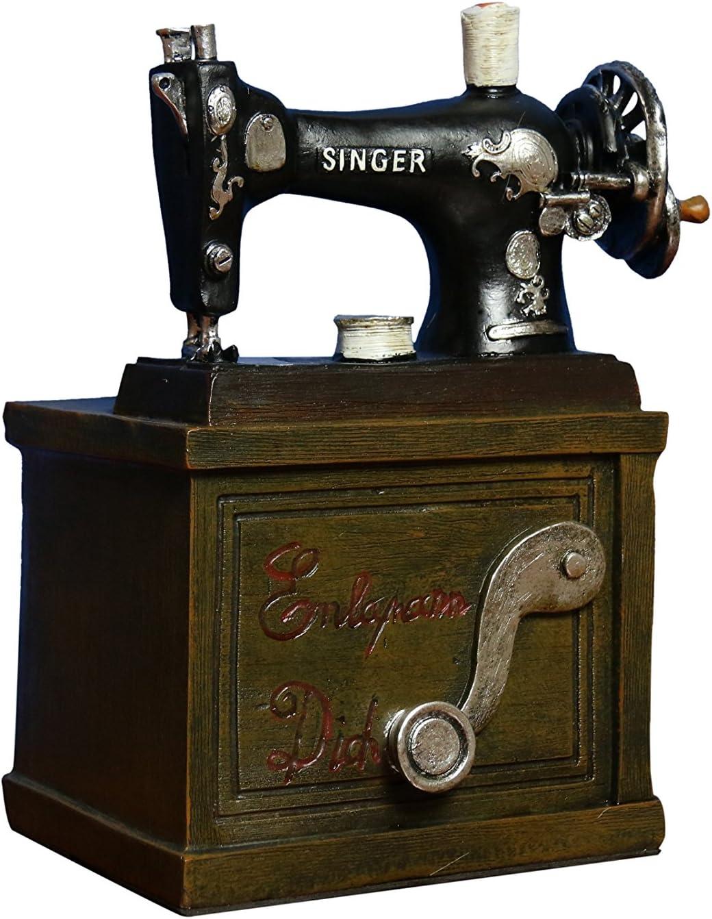 Oh. Moda ™ Vintage máquina de coser vino soporte | decorativo para ...
