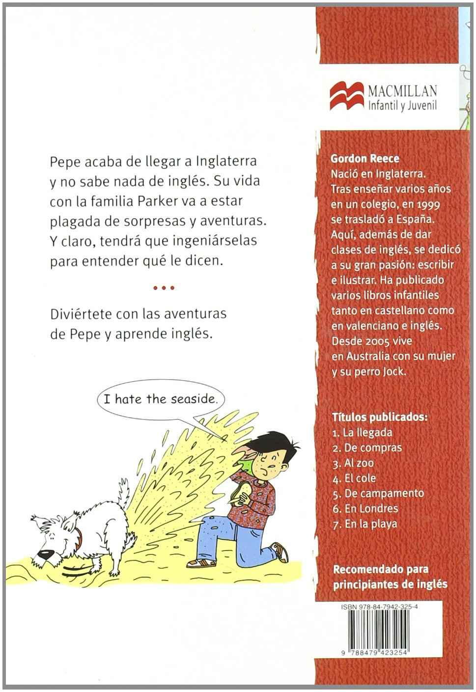 Amazon.com: En la playa (Pepe en Inglaterra) (Spanish Edition) (9788479423254): Gordon Reece: Books