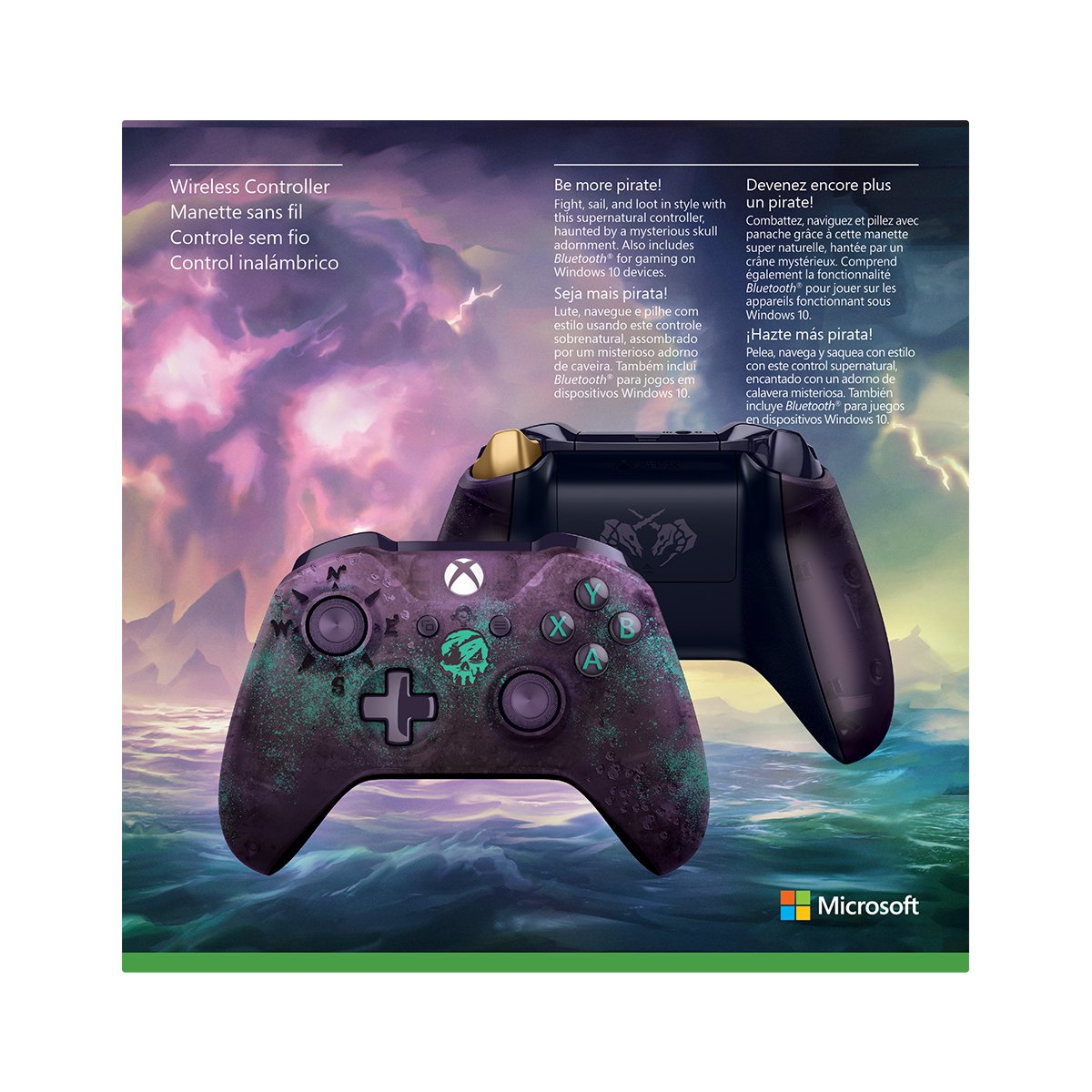 Xbox Wireless Controller - Sea of Thieves Limited Edition by Microsoft