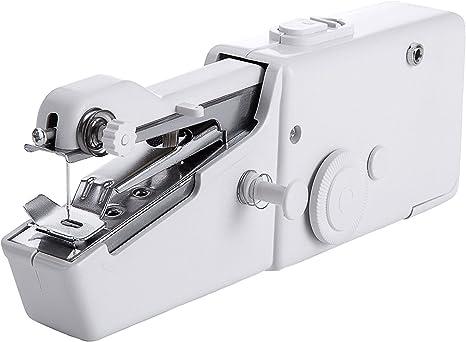 Stolife máquina de coser de mano, mini máquina de coser portátil ...