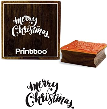 Stamps by Impression ST 0985 Merry Christmas Rubber Stamp