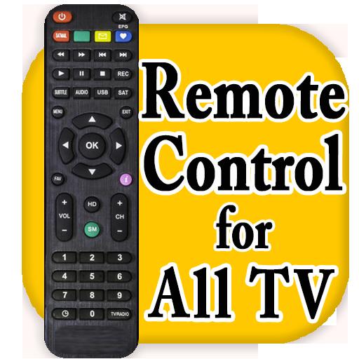 Remote Control All TV 2018