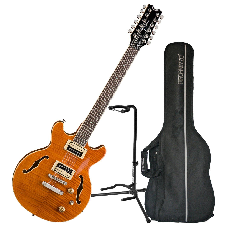 Dean BOCA12 Tam boca - Trans ámbar de 12 cuerdas para guitarra ...