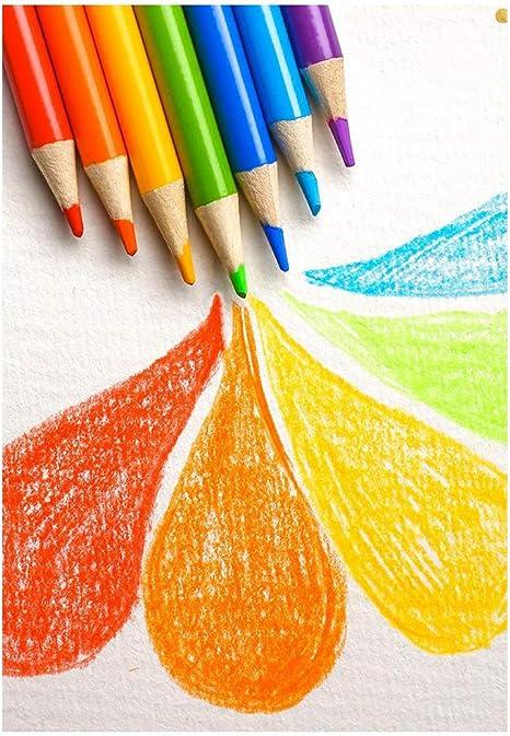 Matite Colorate in Legno Multicolor per Colorare e Disegnare,Cartoleria per Pittura 20 Pezzi Matite Colorate Arcobaleno Bambini Studenti Disegno Penna Arcobaleno//Pittura Matite Ufficio Cancelleria