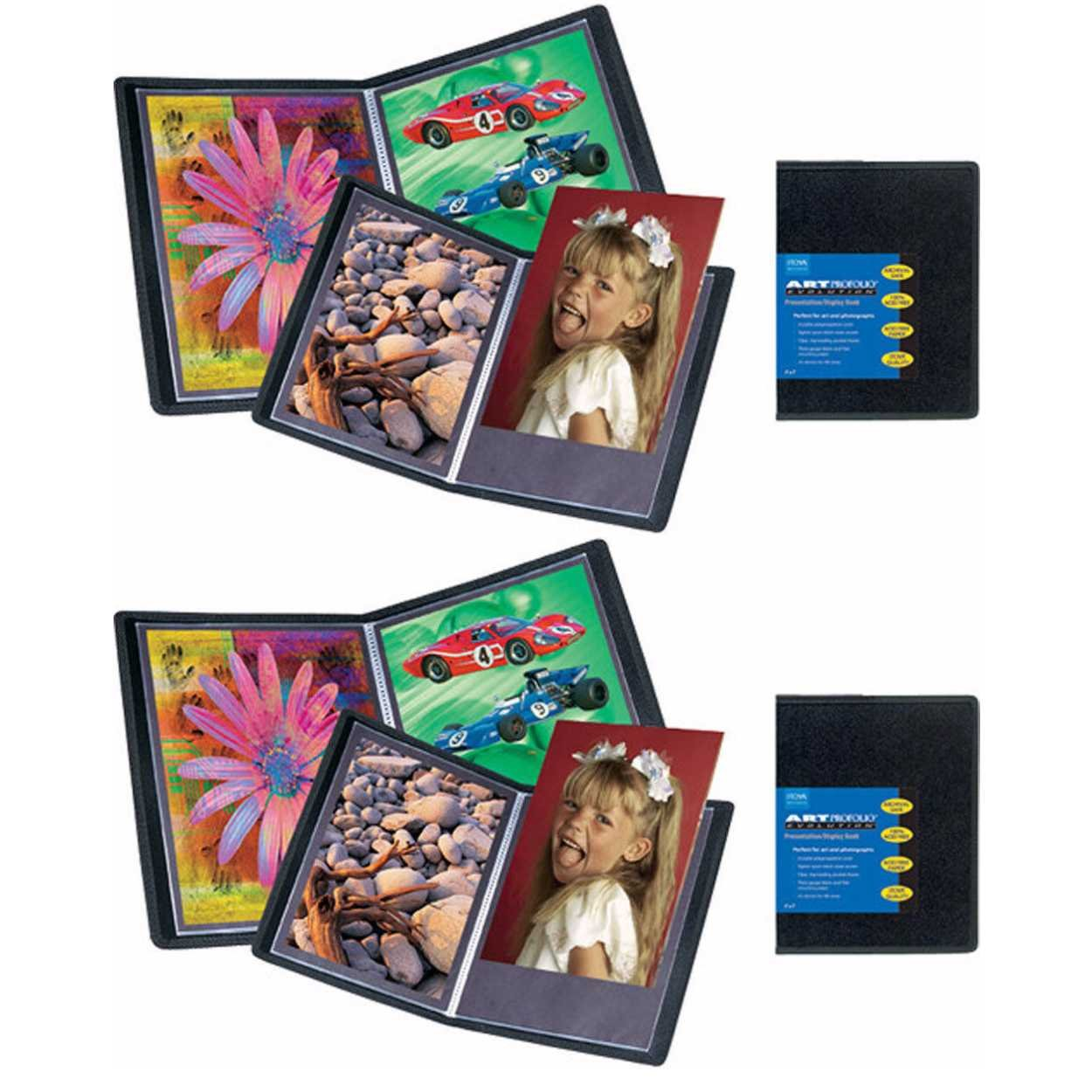 ITOYA Art Profolio Evolution 16'' x 20'' Presentation/Display Book 2-Pack