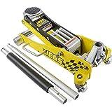 3 Ton Low-Profile Aluminum Racing Car Auto Floor Jack 6000 lbs Limit JEGS 80077