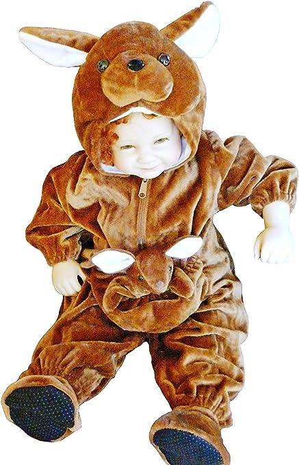 F53 tamaño de 12-18 meses de disfraces canguro para el bebé y ...