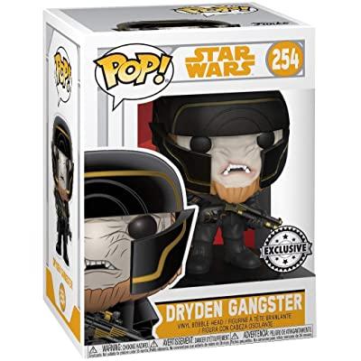 Funko POP! Star Wars: Solo W1 - Dryden Henchman (Target Exclusive): Toys & Games