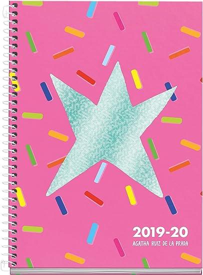 Agatha Ruiz de la Prada agenda escolar 2019 2020 semana vista ...