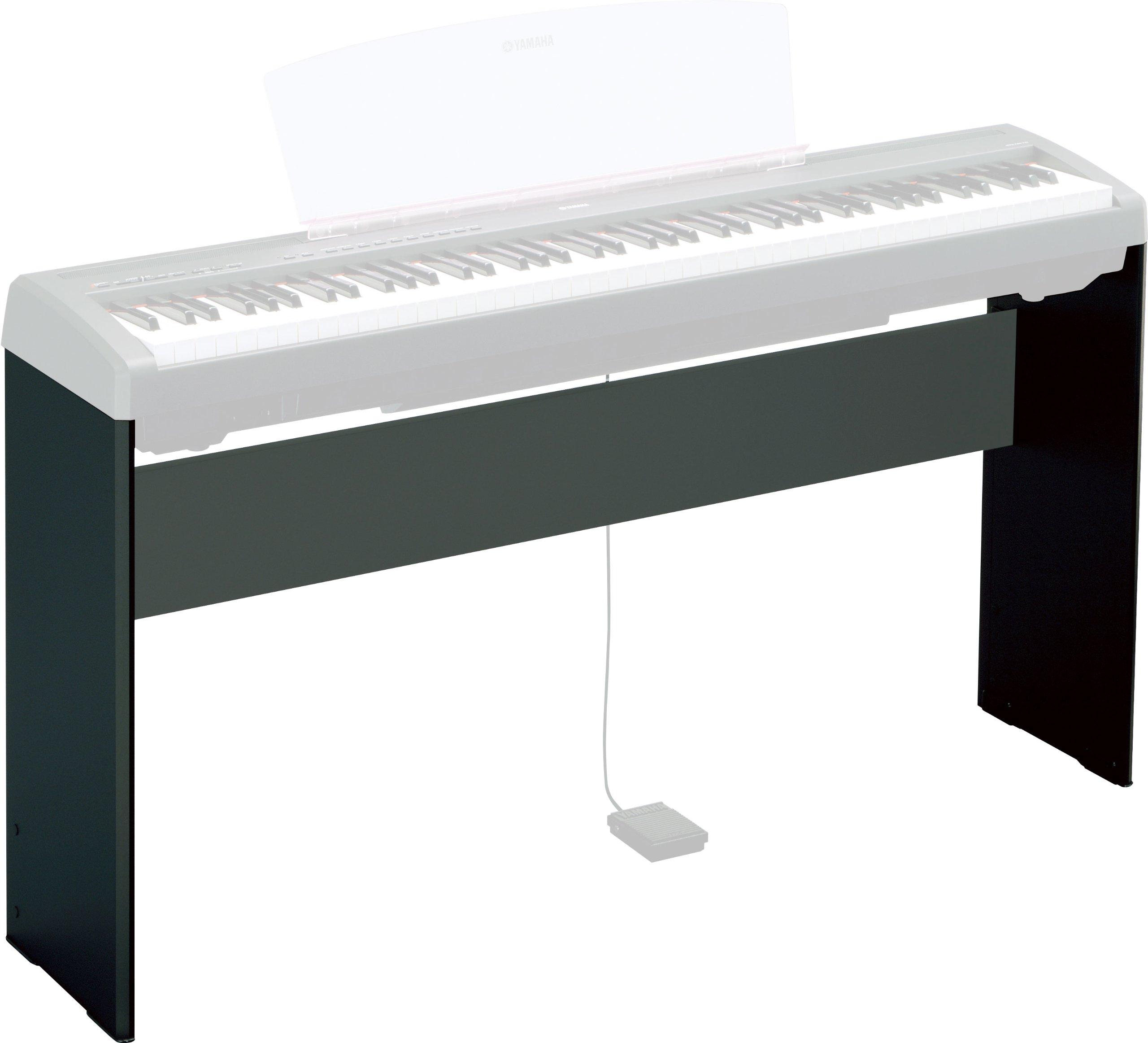 Yamaha L85 Keyboard Stand for P95 - Wood - Black [Electronics]