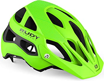 Rudy Project Protera - Casco de Bicicleta - Verde/Negro Contorno de la Cabeza S-M