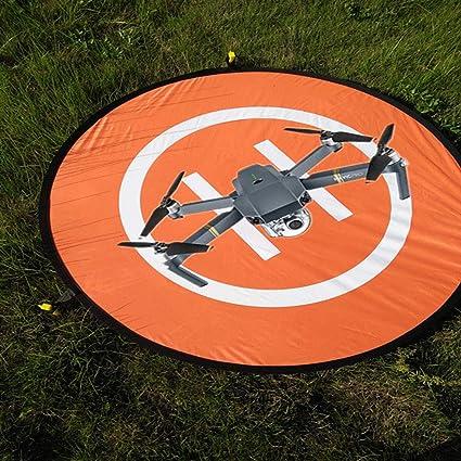 CHUER Drone Landing Pad, 75cm Pista de Aterrizaje Impermeable para ...