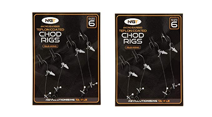 Korda Ready Tied Chod//Choddy Carp Fishing Rigs *All Types*