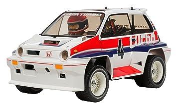 Tamiya 1/10 RC Ciudad de Honda Turbo - WR02C # 58611 - Kit Radio Control: Amazon.es: Juguetes y juegos