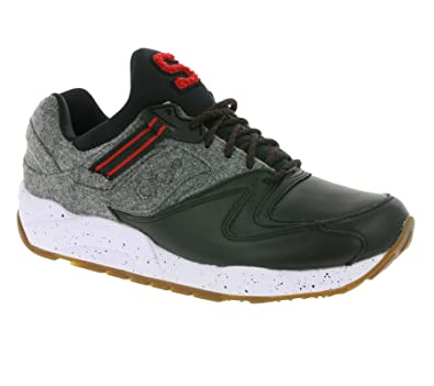 SAUCONY GRID 9000 LE LETTERMAN (BLACK/GREY) MENS SHOES S70259-1 (