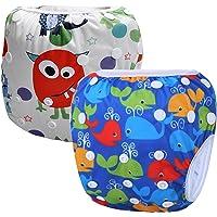 Storeofbaby Baby Swim Pants Pañal ajustable reutilizable Short Trunks Infantil 0 3 años